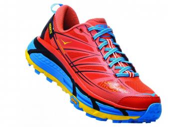 Scarpe Hoka Trail Mafate Speed 2 Rosso Blu