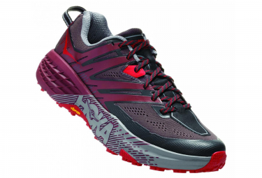 Hoka Trail Shoes Speedgoat 3 Bordeau Black