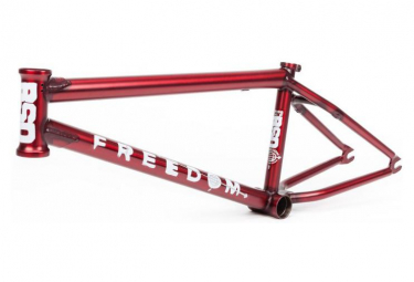 BSD BMX Freestyle Freedom Flat Trans Red