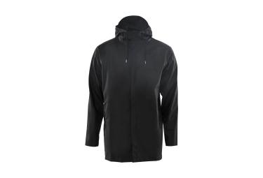Veste Imperméable Rains Short Coat Noir