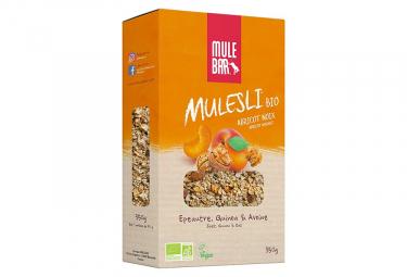 Muesli mulebar mulesli bio vegan abricot noix 350 g