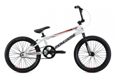 BMX Race Mongoose Title Elite Pro XL Pro XL Blanc / Rouge 2019