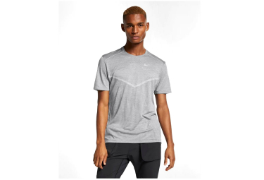 Maillot Manches Courtes Nike TechKnit Cool Ultra Gris Homme