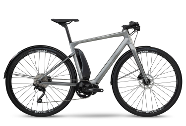 Vélo de Ville Électrique BMC Alpenchallenge AMP City ONE Shimano Deore 10V Gris 2019