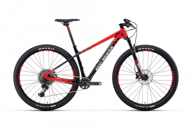Hardtail MTB Rocky Mountain 29 '' Vertex 90 Sram XO1 Eagle 12V nero / rosso 2019