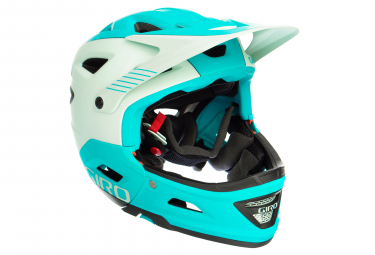 GIRO SWITCHBLADE MIPS Helmet with Removable Chinbar Green