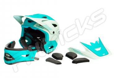 Casco con Mentoniera Rimovibile GIRO Switchblade MIPS Verde