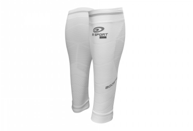 BV Sport Booster Elite Evo2 Compression Calf White