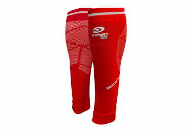 Manchons de Compression BV Sport Booster Elite Evo2 Rouge