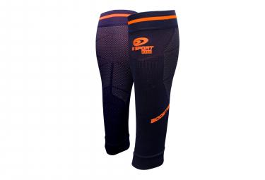 Manchons de Compression BV Sport Booster Elite Evo2 Bleu Orange