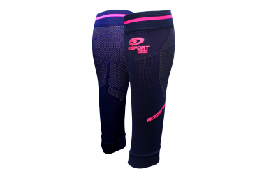 Manchons de Compression BV Sport Booster Elite Evo2 Bleu Rose