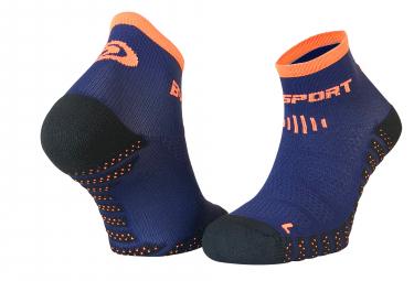 Paire de chaussettes bv sport scr one evo bleu orange 39 41