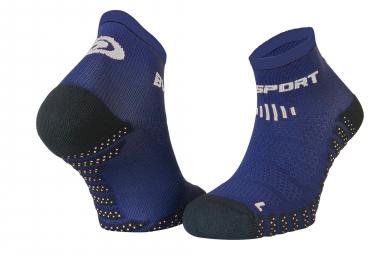 Paire de chaussettes bv sport scr one evo bleu marine 36 38