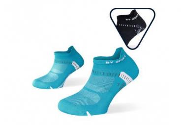Bv Sport Socquette Lightone Ultra Courte X2 Black Blue 45 47