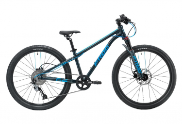 Frog Bikes Child MTB 62 Metallic Grey Neon Blue