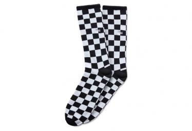 Vans Pair of Socks Checkboard II Crew Black / White