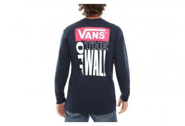 T-Shirt Manches Longues Retro Tall Type Navy / Bleu