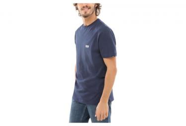 T-Shirt Manches Courtes Vans Retro Tall Type Bleu