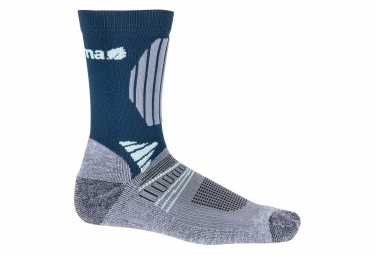 Lafuma Fastlite Long High Cut Socks Blue Grey