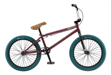 Bmx freestyle gt performer 20 75 rouge bordeaux 2019