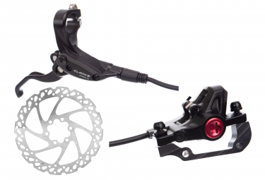 Clarks M2 Rear Hydraulic Disc Brake + 160 mm Rotor Black