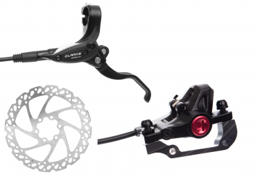 Clarks M2 Front Hydraulic Disc Brake + 180 mm Rotor Black