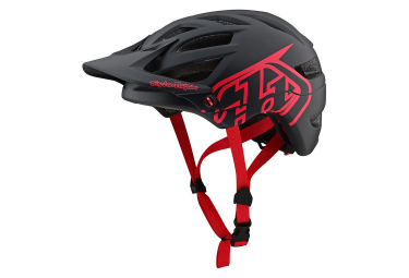 Casque VTT Troy Lee Designs A1 Drone Noir Rouge Mat