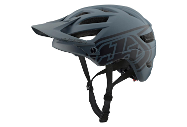 Casque VTT Troy Lee Designs A1 Drone Gris Noir Mat