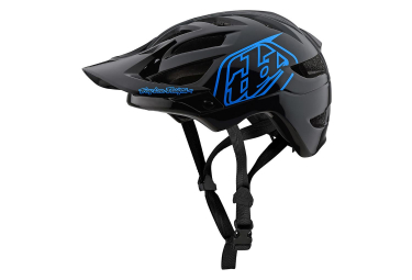 Casco MTB Troy Lee Designs A1 Drone Youth negro azul brillante