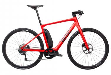 Vélo de Ville Électrique BMC Alpenchallenge AMP Sport LTD Shimano Ultegra 11V Rouge 2019