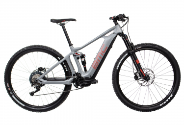 MTB Eléctrica Doble Suspensión BMC Speedfox AMP THREE   29'' Gris / Rouge 2018