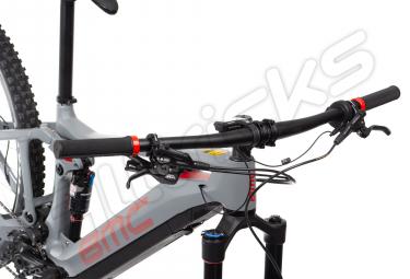 VTT Electrique BMC 2018 SpeedFox AMP THREE Shimano SLX 1x11v / Shimano STEPS E-8000 Gris Rouge