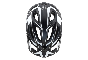 Casco MTB Troy Lee Designs A2 Dropout Mips negro blanco mate