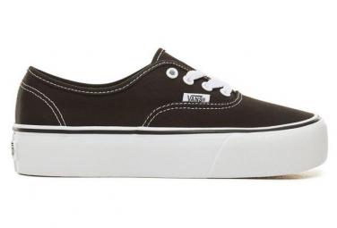 Vans Shoes Authentic Platform 2 Schwarz