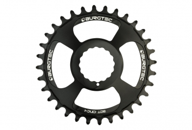 Burgtec Chainring Cinch Thick Thin Black