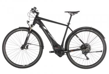 Cube Cross Hybrid Race 500 Allroad Hybrid Touring Bike Shimano SLX / XT 11S Negro Blanco 2019