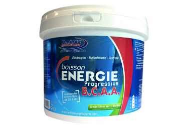 Energy Drink Fenioux Energie Progressive BCAA Lemon Mint 1,5kg