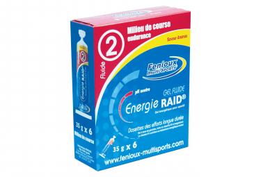 Fenioux Gel Fluide Energie Pack ananas 6x35g