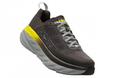 Chaussures de Running Hoka One One Bondi 6 Noir / Jaune