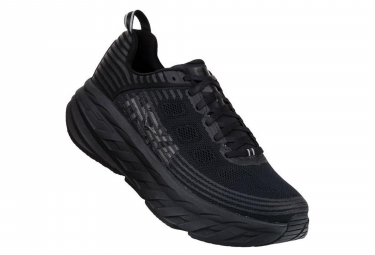 Hoka Running Shoes Bondi 6 Black Men