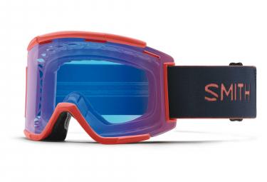 Smith Squad XL MTB Goggle Red Rock - ChromaPop Contrast Rose Flash