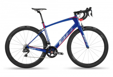 BH Quartz 4.5 Road Bike Shimano Ulegra Di2 11s Blue / Red 2019