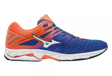 detailed look 8771b 2f045 Mizuno Wave Shadow 2 Blue Orange Men