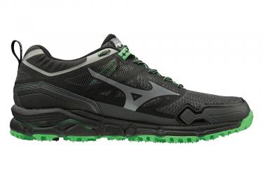 Chaussures de Trail Mizuno Wave Daichi 4 Noir / Vert