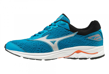 Mizuno Wave Rider 22 Blue Orange Youth