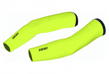 BBB Thermo Fabric Arm Warmer Neon Yellow