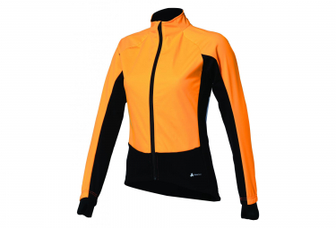 BBB Woman Winter Jacket Black/Orange