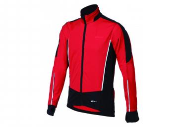 Veste hiver bbb controlshield rouge noir m