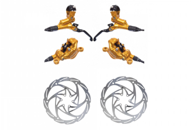 Formula Disc Brake Pair Cura (disc 160mm) Gold 2019