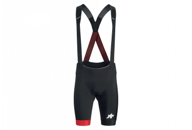 Assos Equipe RS S9 Bib Shorts Black National Red